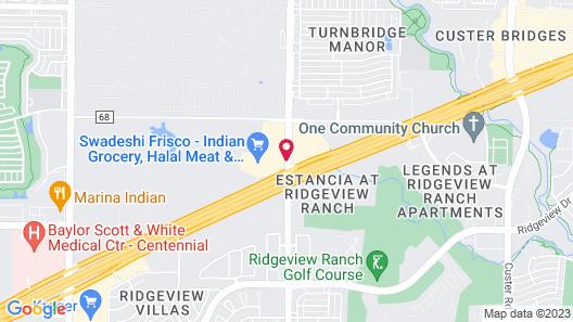 Wingate By Wyndham Frisco TX Map