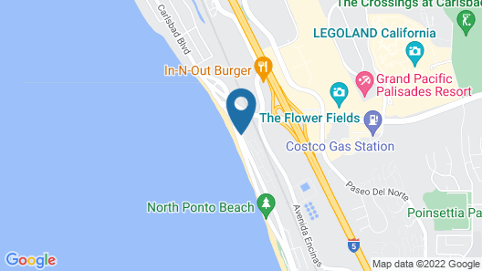 Cape Rey Carlsbad Beach, a Hilton Resort & Spa Map