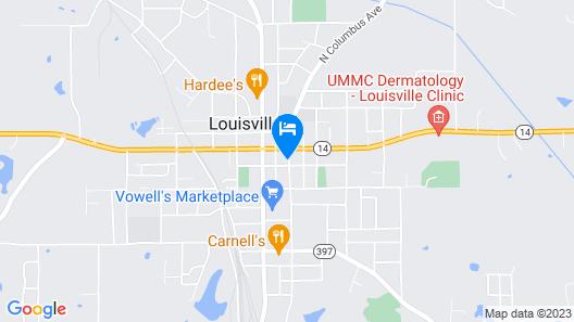 The Mason Boutique Hotel Map
