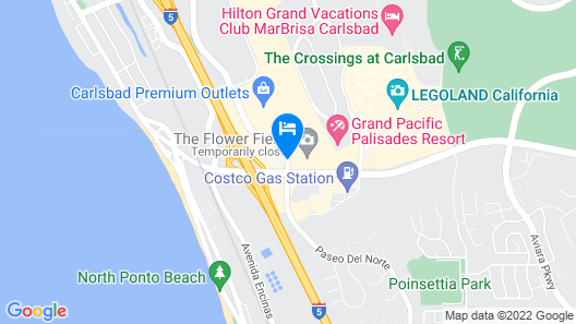 Carlsbad By The Sea Hotel Map
