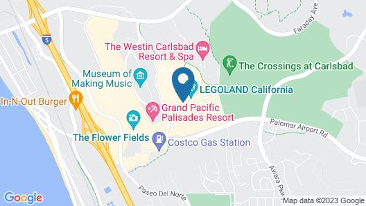 LEGOLAND California Resort and Castle Hotel Map