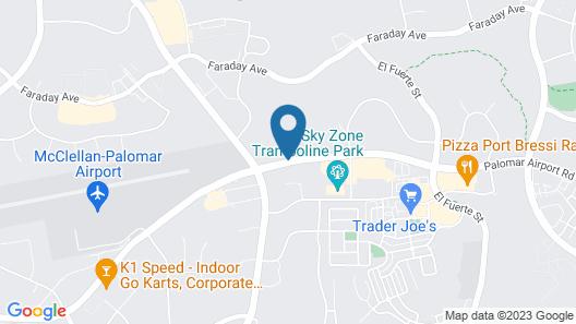 Staybridge Suites Carlsbad Map