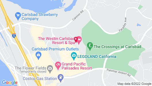 Sheraton Carlsbad Resort & Spa Map