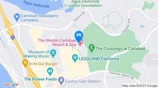 Westin Carlsbad Resort & Spa Map