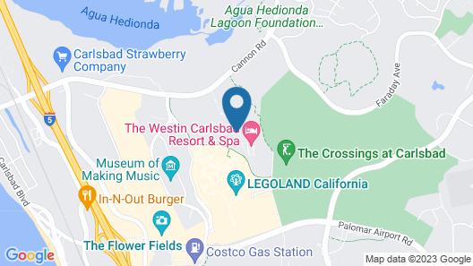 MarBrisa Carlsbad Resort Map