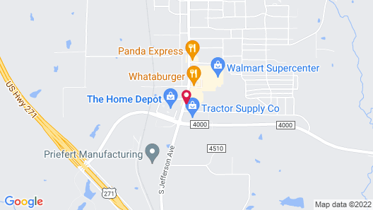 Candlewood Suites Mount Pleasant, an IHG Hotel Map