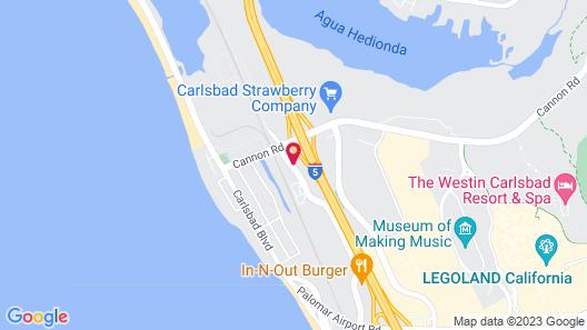 Carlsbad Suites Map
