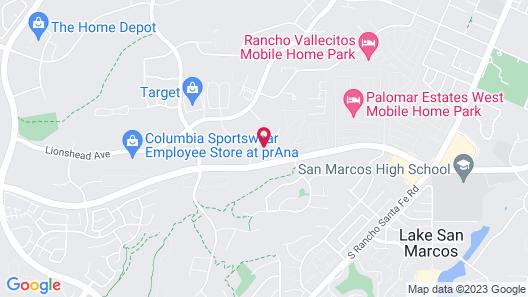 Ayres Hotel Vista Carlsbad Map