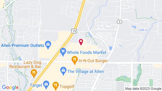 Home2 Suites by Hilton Fairview/Allen Map