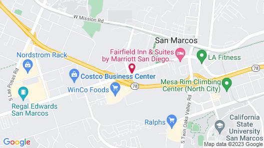 Days Inn by Wyndham San Marcos Map