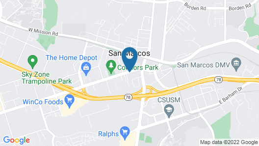 Fairfield Inn & Suites San Diego North/San Marcos Map