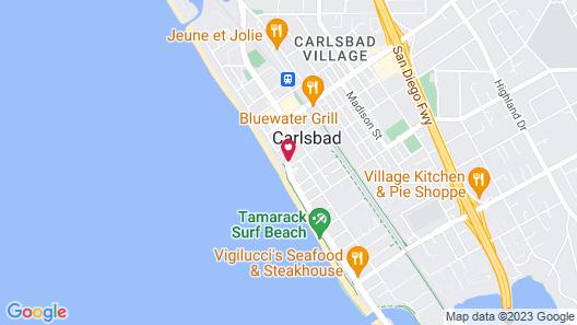 Best Western Plus Beach View Lodge Map