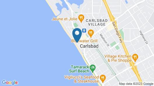 Ocean Palms Beach Resort Map