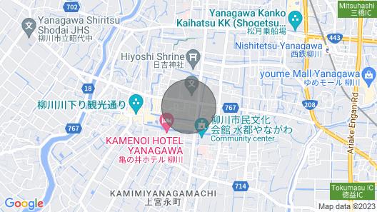 This is a Privatelyowned Guest House / Yanagawa Fukuoka Map