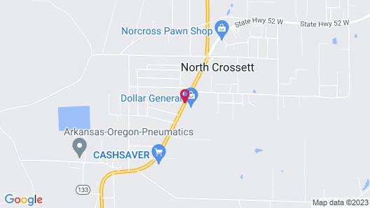 Hollywood Motel Map