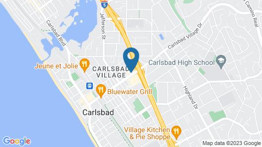 Carlsbad Village Inn Map