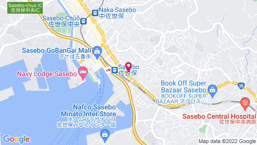 Sasebo Washington Hotel Map