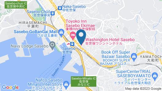 Sasebo Washington Hotel Map