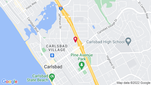 Extended Stay America-San Diego-Carlsbad Village by the Sea Map