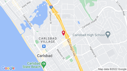 Extended Stay America Suites Carlsbad Village by the Sea Map