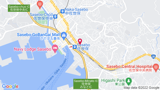 Hotel Resol Sasebo Map