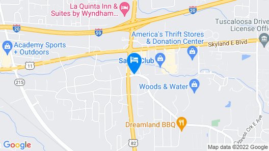 Country Inn & Suites by Radisson, Tuscaloosa, AL Map