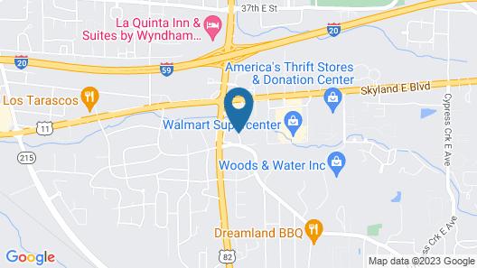 Quality Inn Tuscaloosa Map