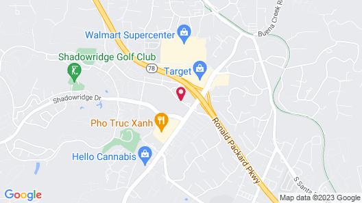 La Quinta Inn by Wyndham San Diego Vista Map