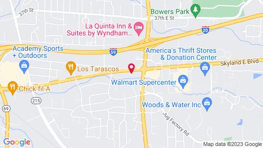 Candlewood Suites Tuscaloosa, an IHG Hotel Map