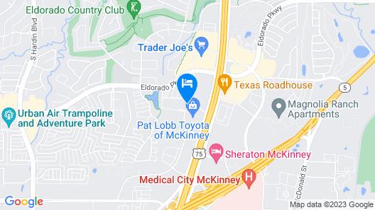 Holiday Inn & Suites McKinney - N Allen, an IHG Hotel Map