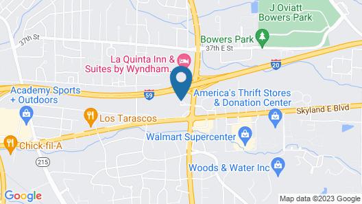 Travelodge by Wyndham Tuscaloosa Map