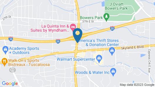 Super 8 by Wyndham Tuscaloosa Map