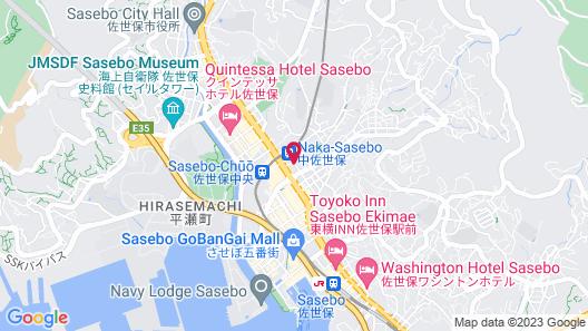Sunwest Hotel Sasebo Map