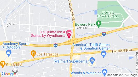 La Quinta Inn & Suites by Wyndham Tuscaloosa University Map