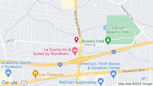 Masters Inn Tuscaloosa Map