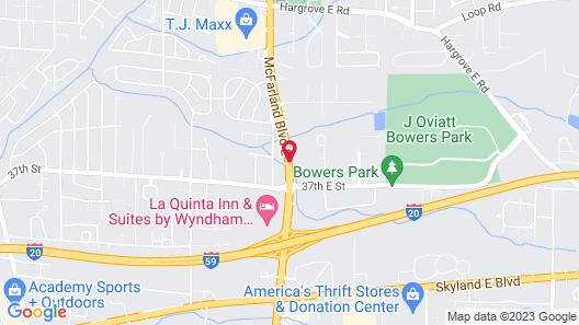 Americas Best Value Inn Tuscaloosa Map