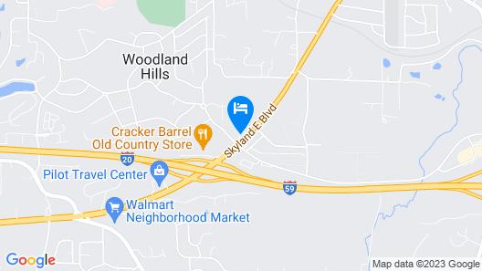 Wingate By Wyndham Tuscaloosa Map