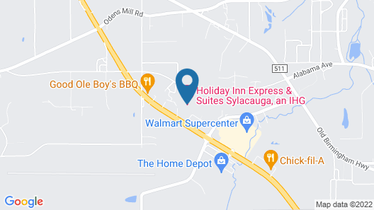 Holiday Inn Express Hotel & Suites Sylacauga, an IHG Hotel Map