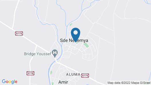 Al Sfat HaBanias Map
