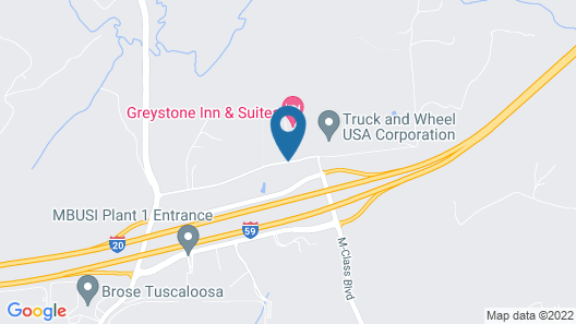 Greystone Inn and Suites Map