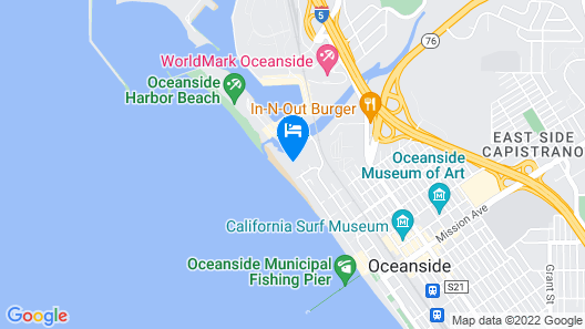 Amazing Whitewater Ocean Views From Beautiful NCV Condo! Map