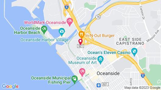 La Quinta Inn by Wyndham San Diego Oceanside Map