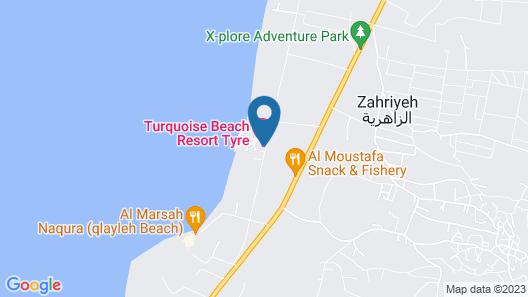 Turquoise Beach Resort Map