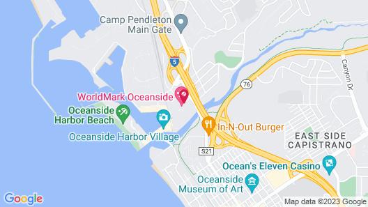 WorldMark Oceanside Map