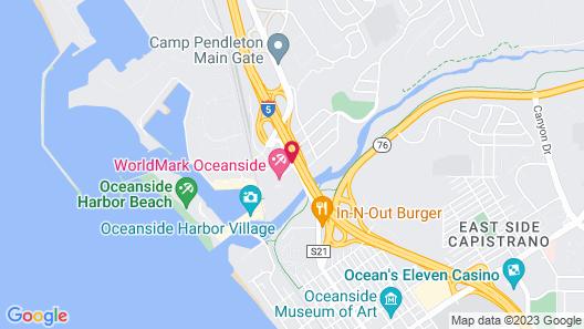 Harbor Inn & Suites Map