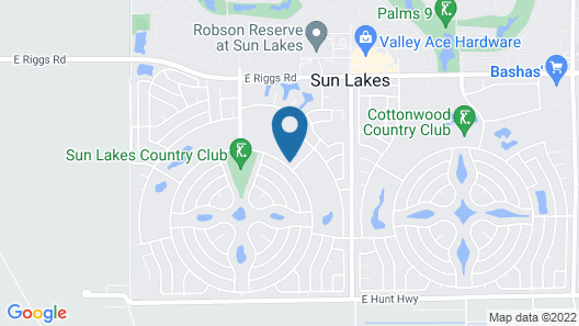 Sun Lakes By Signature Vacation Rentals Map