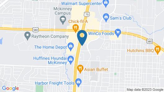 Comfort Suites McKinney - Allen Map