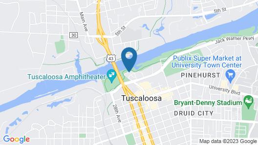 Hotel Indigo Tuscaloosa Downtown, an IHG Hotel Map