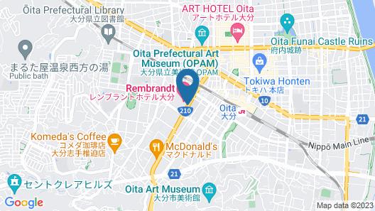 Rembrandt Hotel Oita Map