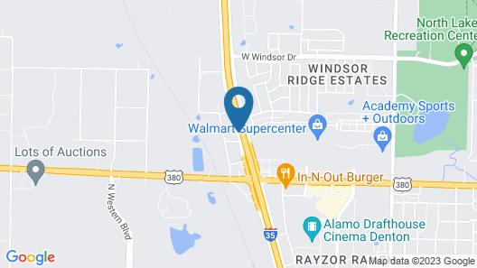 Days Inn by Wyndham Denton Map